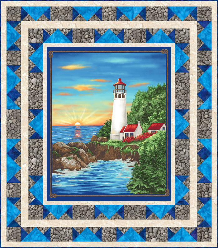 Free Pattern - Lighthouse Wonders - eQuilter BlogeQuilter Blog